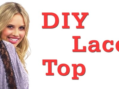 DIY Lace Sleeves OOTD! #17daily