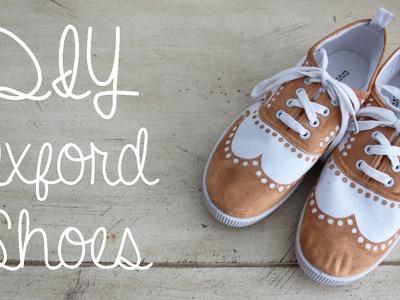 DIY Oxford Shoes