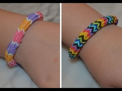 Double Nautique Rainbow Loom Bracelet. The best bracelet ever!