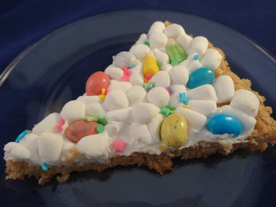 Easter Cookie Pizza- with yoyomax12