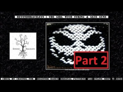 ► Friendship Bracelet Tutorial - Advanced - Jack Skellington (Part 2)