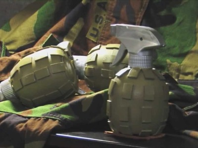 How to build a prop grenade