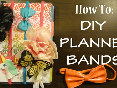 HOW TO: DIY Planner Bands