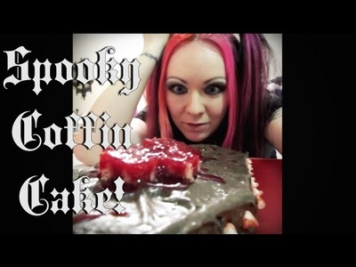 How to Make a Delicious Spooky Coffin Cake