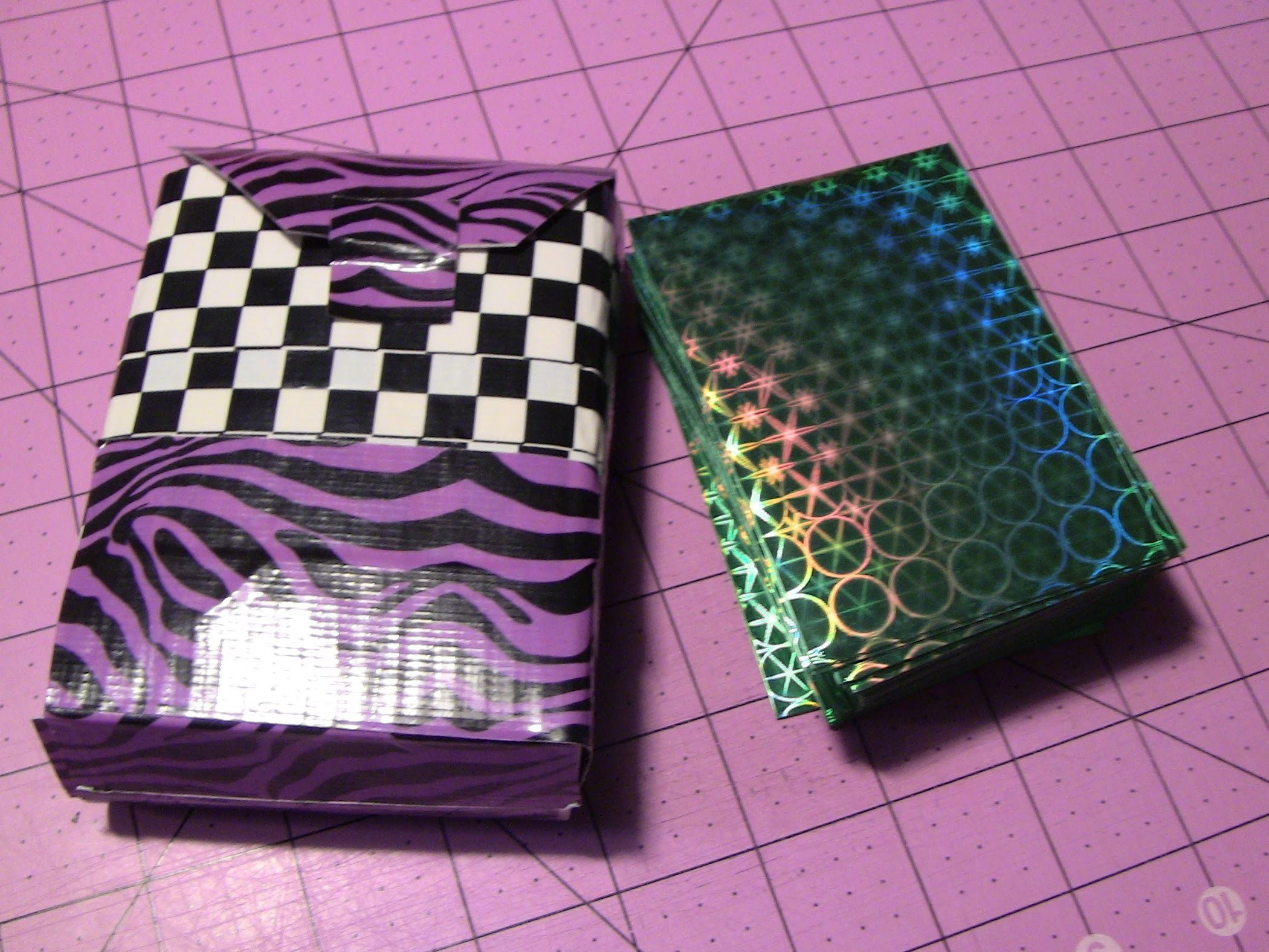 How to make a Duct tape Deck box!