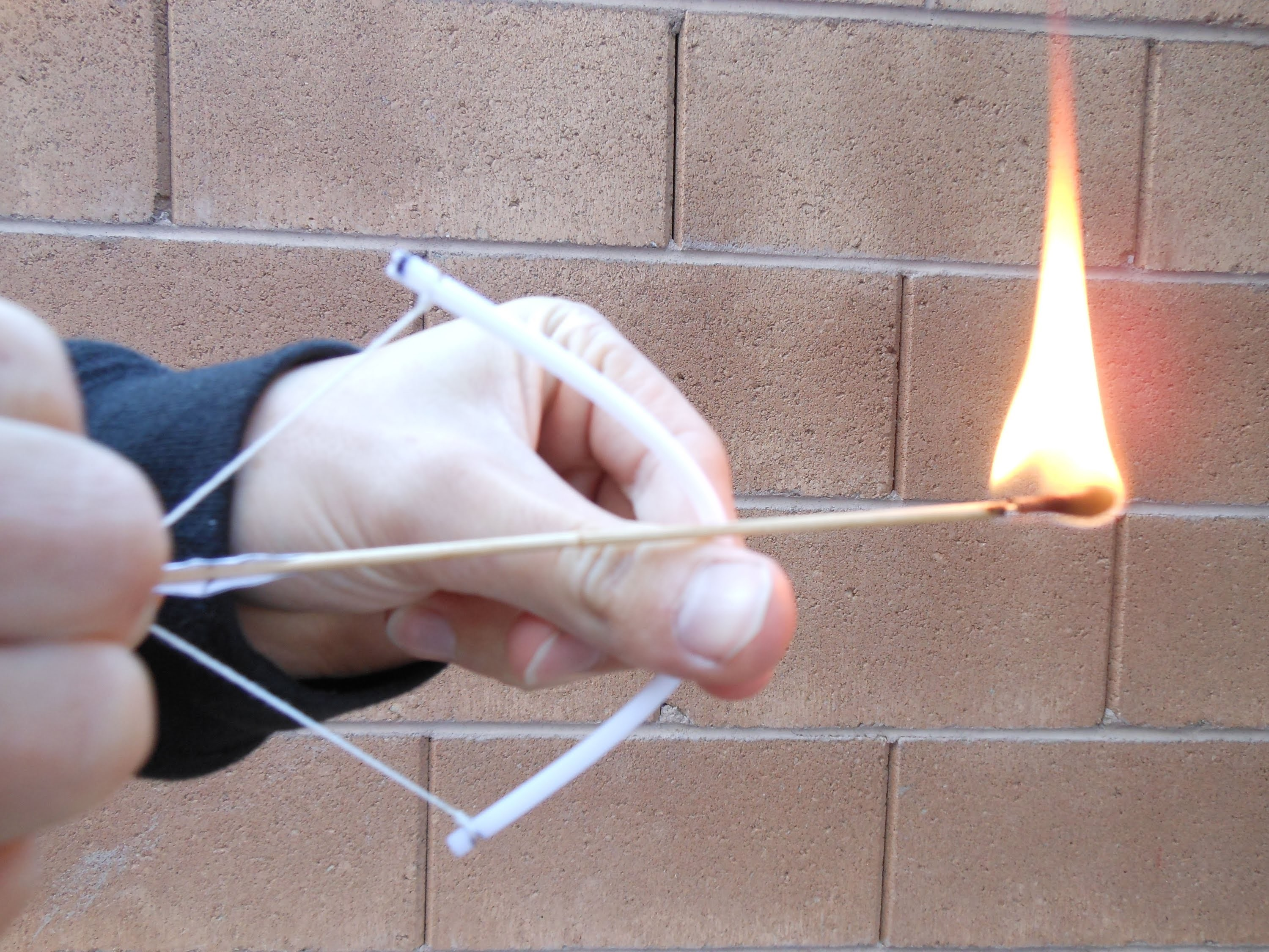 How to make a great, easy mini bow and arrow