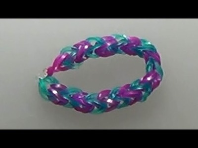 How to make a loom bracelet