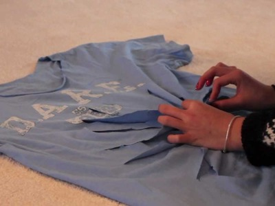 How to make a spiral cut shirt (video form)