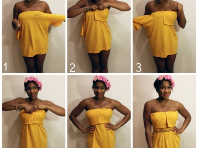 How to Make a T-Shirt Dress