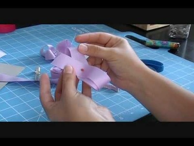 How to Make a Twisted Boutique Bow