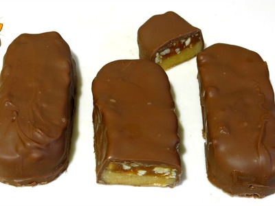 HOW TO MAKE SNICKERS BARS