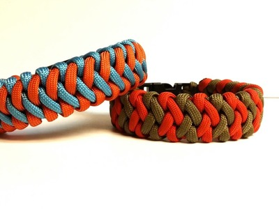How to make the Cross Hitch Paracord Bracelet