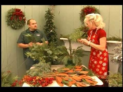 Kelly MacIntyre TV COGECO Your Lifestyle Making Outdoor Christmas Florals