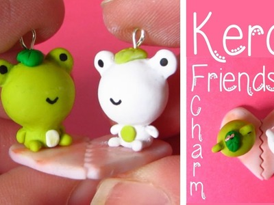 Kerori San-x  Frog Friendship Charm Tutorial: Heart Lilypad, Valentines Tutorial #2 Polymer Clay.