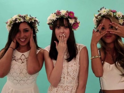 Lessons From The Pros: Flower Crowns