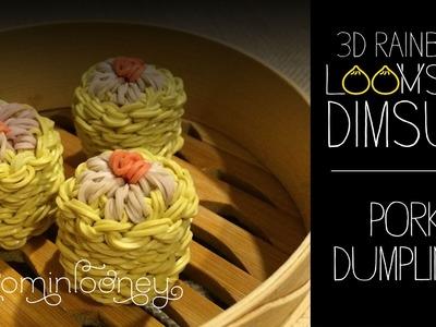 Loom Shumai. Pork Dumplings: 3D Rainbow Loomsum Dimsum Series