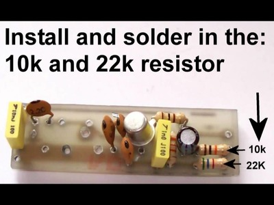 Make a one transistor FM Transmitter.Very easy to make.