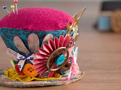 Making a Top Hat Pin Cushion | docrafts Creativity TV