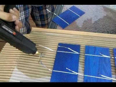 My Off-Grid Bedroom DIY Solar Panel Part 2