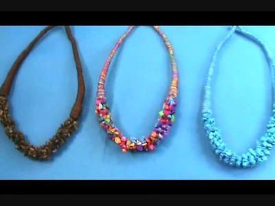 Natural stone chips wholesale necklaces wholesalesarong.com