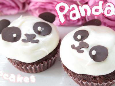 Panda Cupcake Recipe :3
