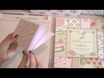 Pretty in Pink Tilda Small Notebook