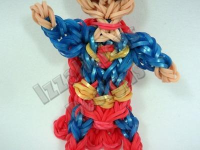 Rainbow Loom Superman Charm.Action Figure - Gomitas
