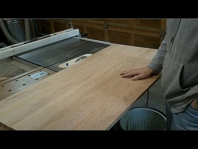 Sheraton Writing Desk - Making The Top