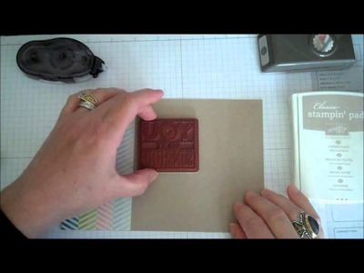 Stampin' Up! Scrapping and Stamping Sunday Series Presented by Stamping Imperfection