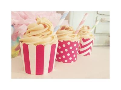 Starbucks Salted Caramel Hot Chocolate Cupcakes