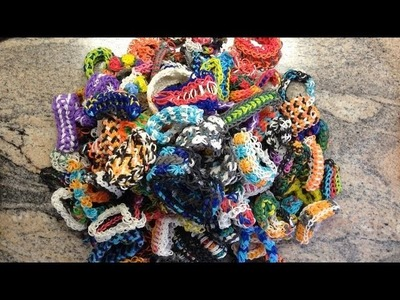 Things I Made Off Of The Rainbow Loom!