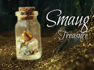 A Dragon's Treasure Bottle Charm {The Desolation of Smaug}