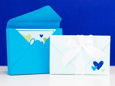 Card Boxes with We R Memory Keepers Envelope Punch Board