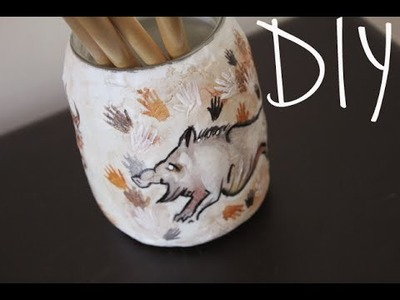 DIY: Cave Painting Jar