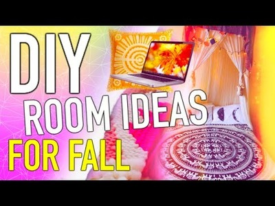 DIY Room decor for fall! Make your room Cozy!