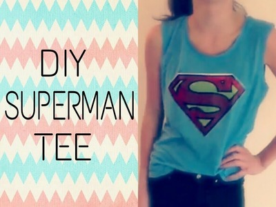 DIY: Superman tee ~ Graphic tees - Part 1 | ∞Inspiration
