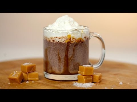 Dunkin' Donuts Salted Caramel Hot Chocolate Recipe | Get the Dish
