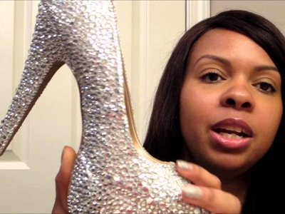 Fixing a DIY Custom Strass Shoe Project