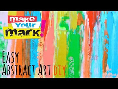 How to: Easy Abstract Art
