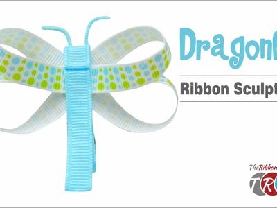 How to Make a Dragonfly Ribbon Sculpture - TheRibbonRetreat.com