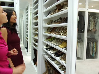 Making A Closet Into A Designer Boutique