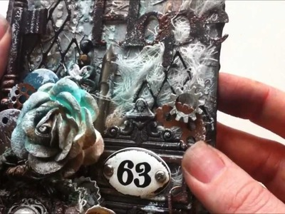 Mixed Media Jumbo Tag ~ LSG DT Project
