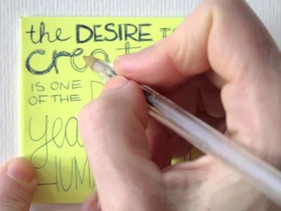 Office Art: Hand Lettering