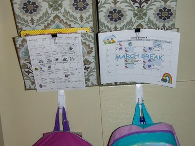 Organize School Papers, Backpacks and Other Stuff!