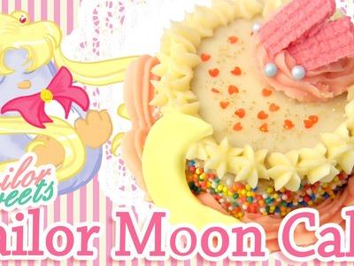 Sailor Moon Mini Cake Tutorial - SAILOR SWEETS SERIES- Pengulincc