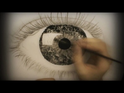 "Surrealistic Speed Drawing: ""Vision"""