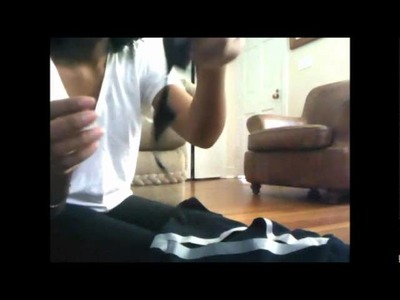 DIY: Finge Cut Out back Bodycon dress