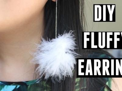 DIY Fluffy Earrings | Frommycloset