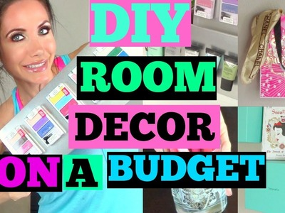 DIY ROOM DECOR ON A BUDGET