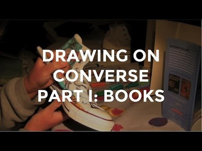Drawing on Converse Part I: Books
